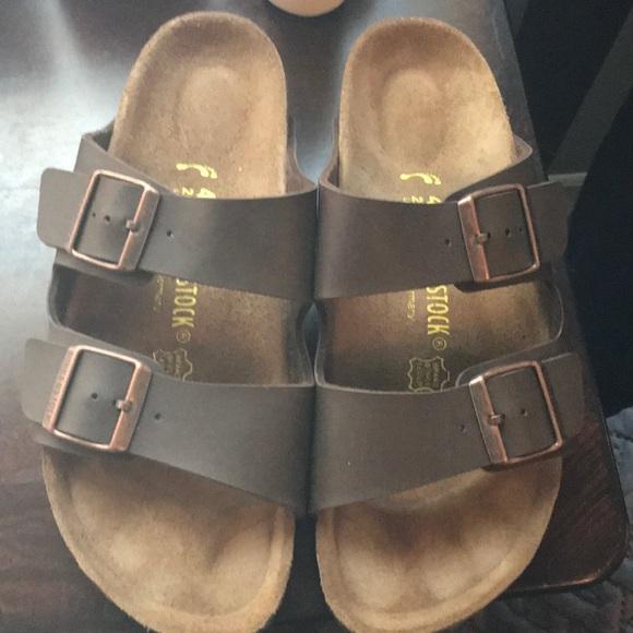 d188800825f Birkenstock Shoes - Women s Brown Leather Birkenstocks Sz 40 9 9.5